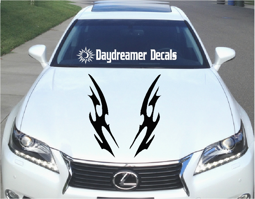 Unique Vinyl Hood Graphics And Decals By Daydreamer Decals - Lexus custom vinyl decals for car